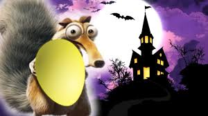 ice age 5 squirrel short scary halloween cartoon with kung fu