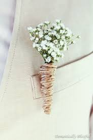 wedding boutonniere diy baby s breath wedding boutonnieres