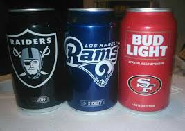 order nfl bud light cans california nfl bud light beer cans general in los angeles ca