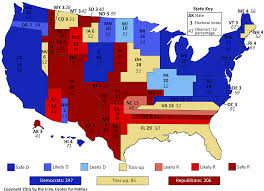 Electoral College Maps 2016 Projections Amp Predictions by 2016 Map Us