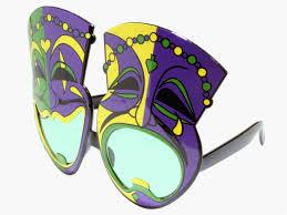 green mardi gras mask mardi gras comedy tragedy mask party glasses green lenses