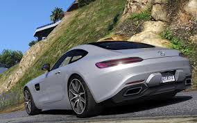 mercedes benz 2016 2016 mercedes benz amg gt add on gta5 mods com