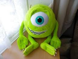 sully sulley 45cm monsters disney pixar copyright soft plush