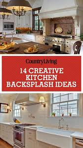 kitchen interior brick veneer stacked stone backsplash kitchen