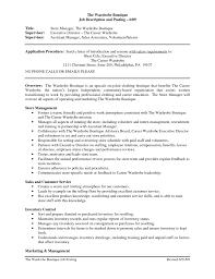 sle of resume pinterest everything fashion clothing retail resume template sales associate job description