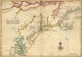 Virginia Colony Map by Map Of New Netherland Virginia And New England World Digital
