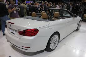 bmw series 5 convertible bmw drops the top in la with 4 series convertible coupe the