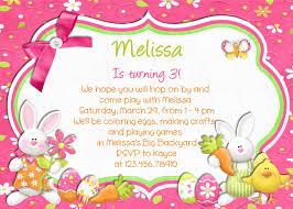 29 beautiful easter invitations card for kids emuroom