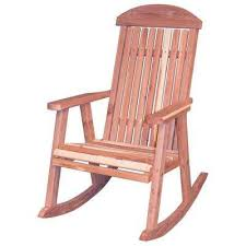 Unfinished Wood Rocking Chair Light Brown Wood Rocking Chairs Patio Chairs The Home Depot