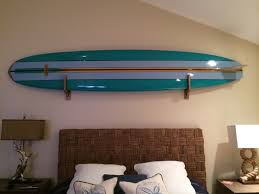surfboard wall decoration home design styles interior ideas