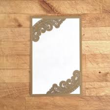 laser cut wood invitations laser cut invitation chantilly lace corner cut a9 no