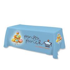 Custom Table Cloths by Custom Standard Table Cover 5ft