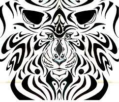 tribal tiger by sieberwolf on deviantart