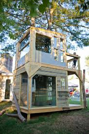 great ideas for treehouses kid baltimores salvaged material tree