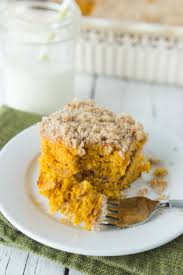 cake mix pumpkin crumb cake made to be a momma