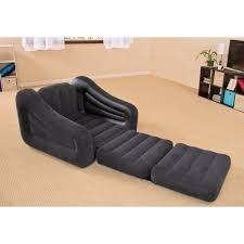 Sleeper Chair by Intex Inflatable Pull Out Chair And Twin Bed Mattress Sleeper