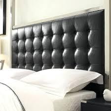 headboards black leather upholstered headboard bedrooms tufted