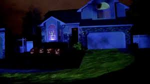 bates haunt halloween 2011 projection mapping show youtube