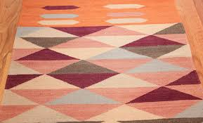 Modern Kilim Rugs Swedish Inspired Carpet 48475 By Nazmiyal Collection