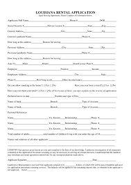 louisiana rental application legalforms org