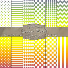 all in 1 pattern pack in summer muted color paper pack