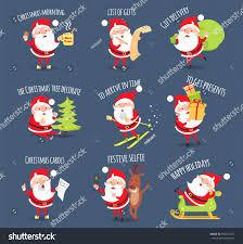 the christmas list santa activities set christmas morning list stock illustration