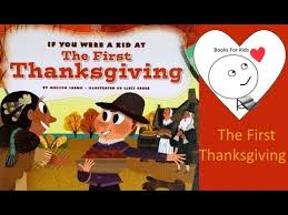if you were a kid at the thanksgiving brand new books for