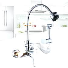 wall mount kitchen faucets with sprayer wall mount kitchen faucets bosssecurity me