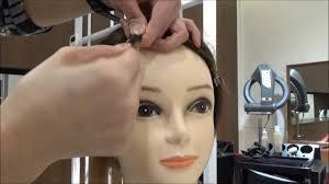 blanco michaela 47 wave hair using a flat hair iron tokyo hair