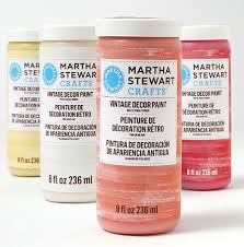 introducing martha stewart crafts vintage decor paint plaid online