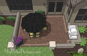 Patio Layouts by Affordable Patio Designs For Your Backyard U2013 Mypatiodesign Com