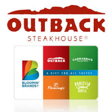 e gift certificates buy outback steakhouse gift cards gift cards at giftcertificates