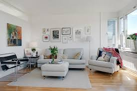 Scandinavian Design NewlyRenovated Apartment In Gothenburg - Scandinavian design living room