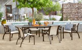 modern outdoor dining table chair modern wood outdoor dining furniture table with black chairs