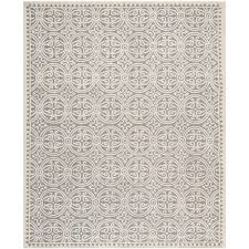 12 By 16 Area Rugs Safavieh Cambridge Silver Ivory 10 Ft X 14 Ft Area Rug Cam123d