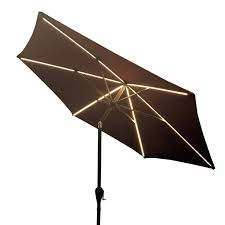 Patio Umbrellas With Led Lights by Ultra Brite Ultra Brite Outdoor 430 Led Lighted Patio Umbrella 9