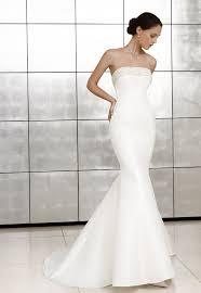 wedding dresses online uk satin mermaid strapless beaded neckline wedding dress