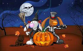 cartoon halloween background showing media posts for halloween wallpaper funny www halloween