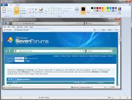 screenshot with paint windows 7 help forums