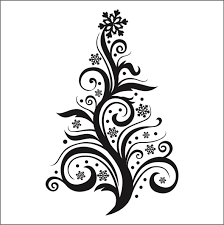 image from http cartoon coloring com images 94501 christmas tree