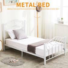 Bed Frame With Headboard And Footboard Size Steel Heavy Duty Metal Bed Frame Headboard Footboard