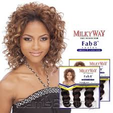 milky way hair belle milkyway human hair weave fabulous series french twist 8 samsbeauty