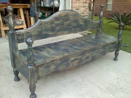 the junktion headboard footboard bench