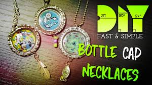 bottle cap necklaces ideas learn how to make bottle cap necklace diy full hd youtube