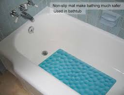 non slip soft rubber bathtub mat othway bathroom