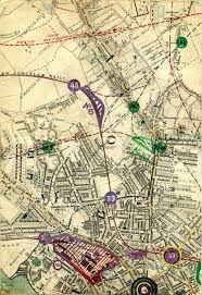 Stanford Maps Stanford U0027s Library Map Of London And Its Suburbs 1864 With