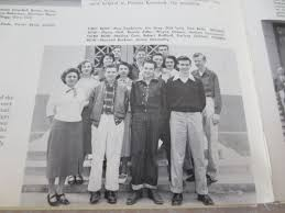 cbell high school yearbook lot detail don drysdale robert redford high school yearbook 1952