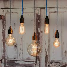 filament light bulb vintage style edison decorative industrial