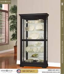 Contemporary Curio Cabinets Curio Cabinets Contemporary Curio Cabinets Six Glass Shelf