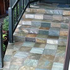 floors exterior blue ridge tile